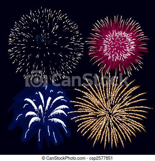 Fireworks - csp2577851