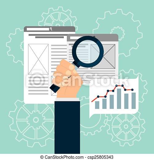 search engine optimization  - csp25805343