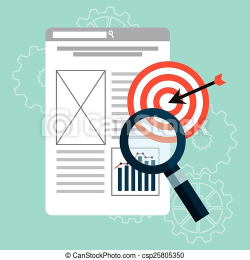 search engine optimization  - csp25805350