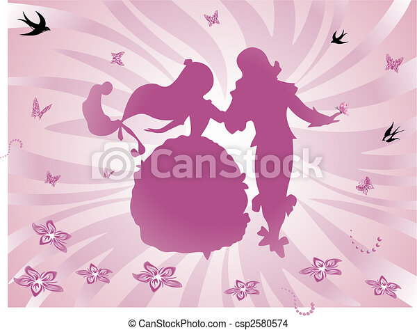 background fairy tale - csp2580574