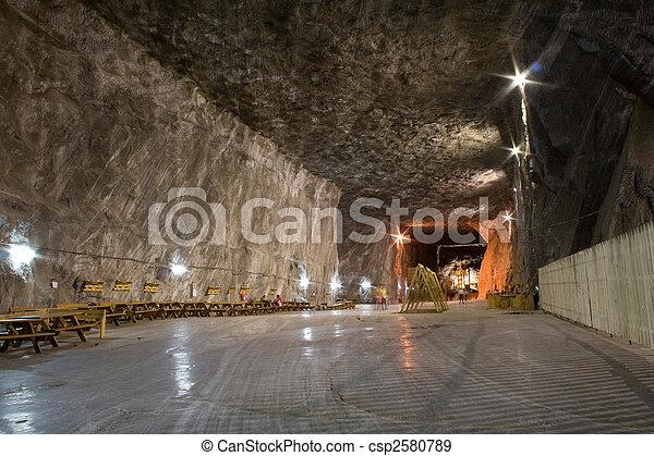 salt mine - csp2580789