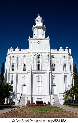 St. George Utah Temple - csp2581152