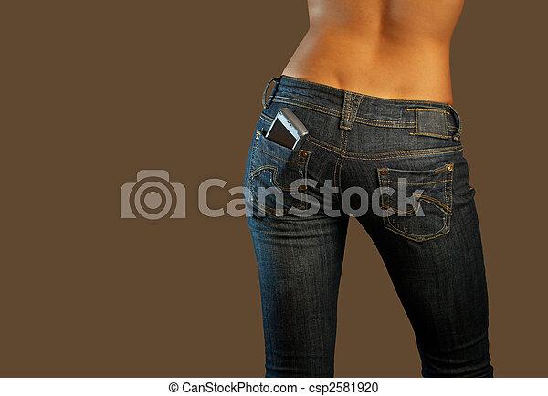 Jeans imaginations (communications) - csp2581920