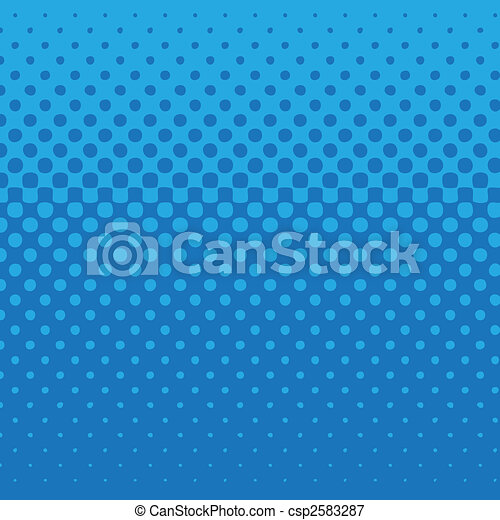 Blue dot pattern - csp2583287