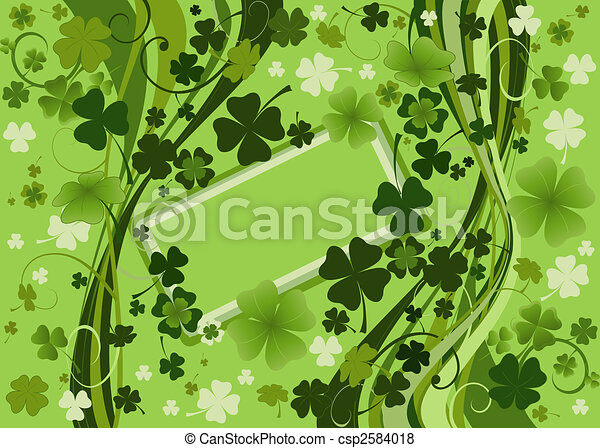 design for St. Patrick's Day - csp2584018