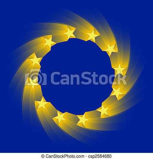 european union flag - csp2584680