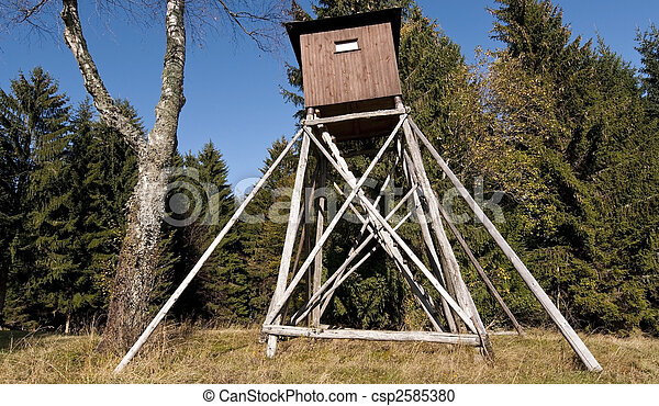 Hunting hut - csp2585380