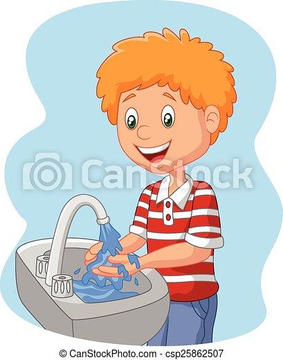 Showing post & media for Cartoon hand washing clip art | www ...