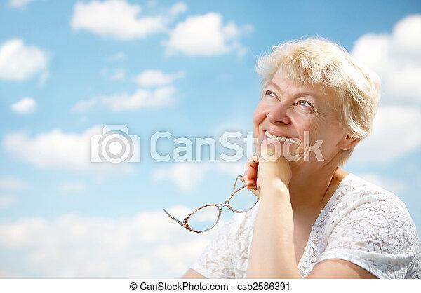 Grandmothers leisure - csp2586391