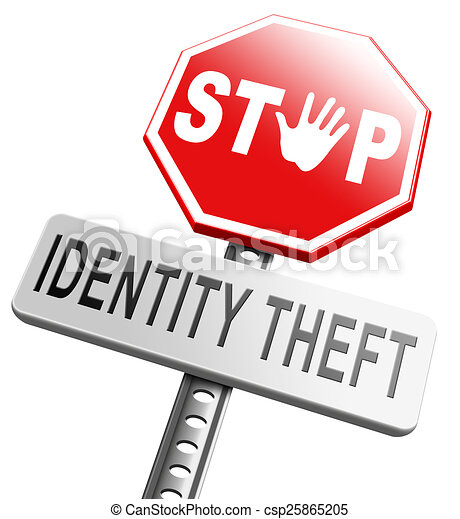 Protect From Identity Theft Clip Art