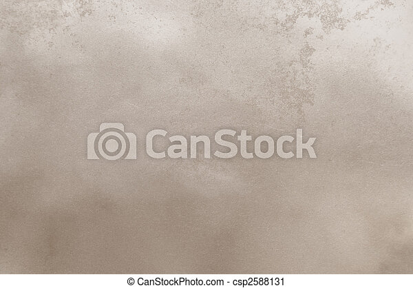 Abstract texture of wall or paper for background with rough, smooth, used beige texture - csp2588131
