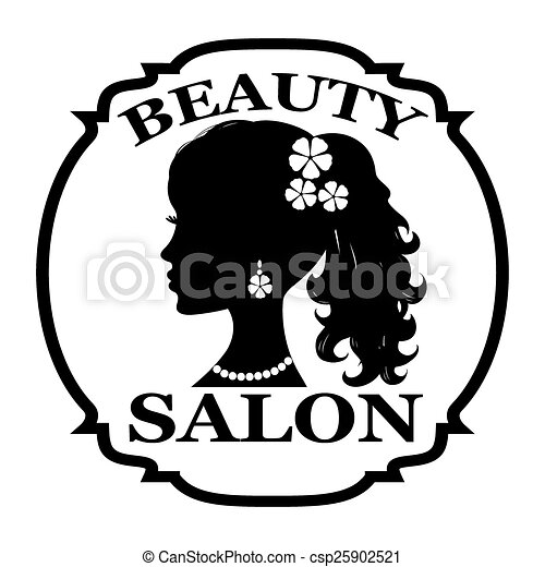 Vector Illustration of Beauty salon logo csp25902521 - Search ...