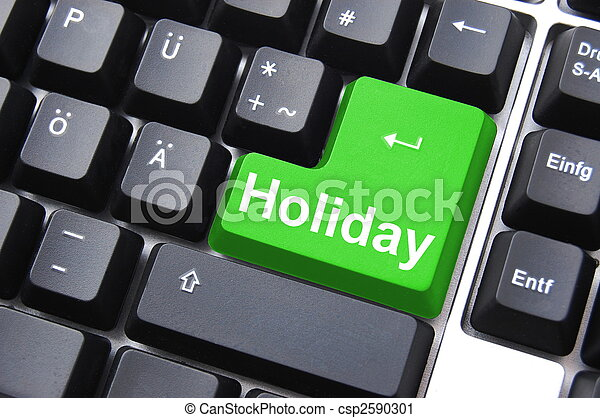 holiday button - csp2590301