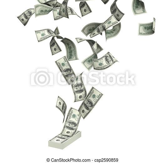 illustration de dollars symbole de richesse et reussite pluie csp2590859. Black Bedroom Furniture Sets. Home Design Ideas