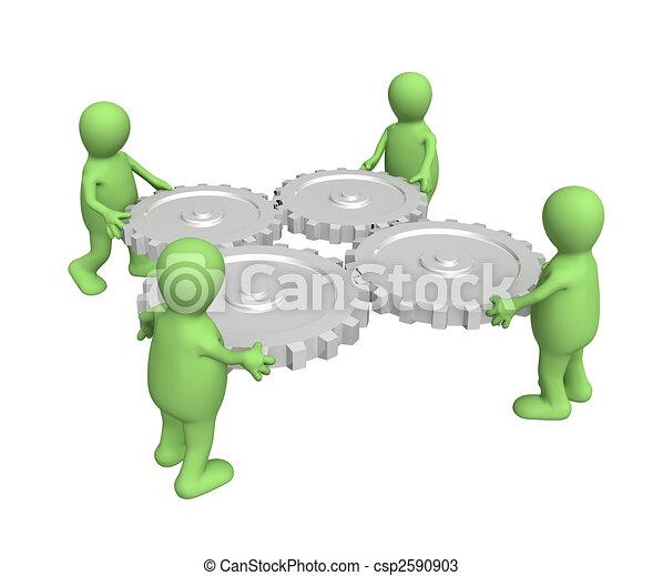 Teamwork - csp2590903