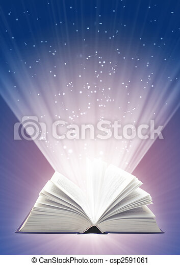 Magic book - csp2591061