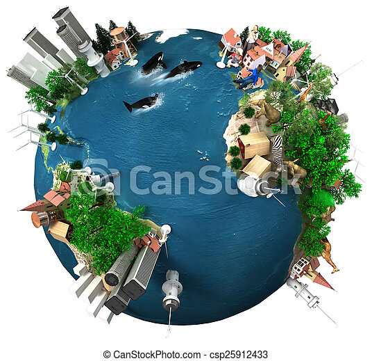 Earth Global Village