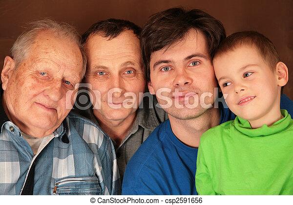 four generations - csp2591656