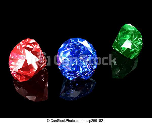 Jewels 3D - csp2591821