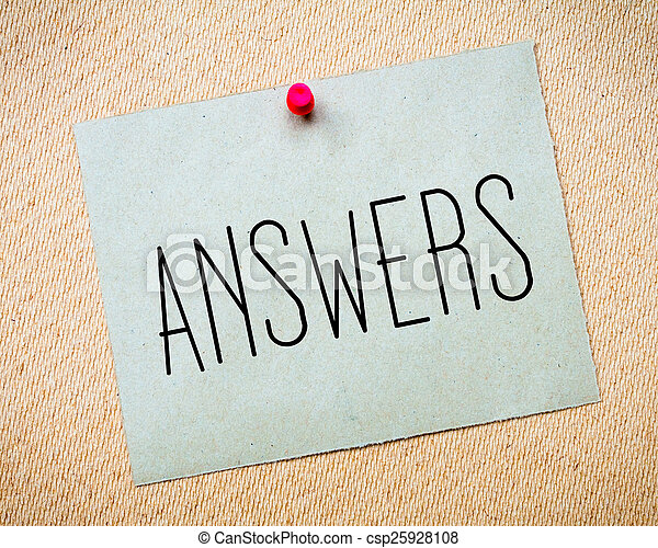 Answers Message