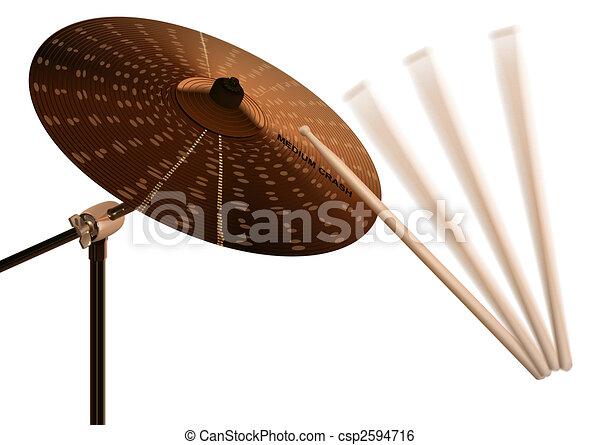 Crash cymbal - csp2594716