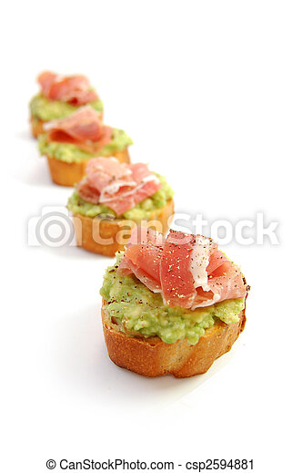 Avocado appetizer - csp2594881