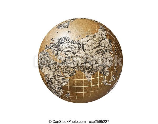 dry earth - csp2595227
