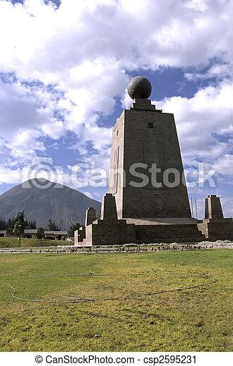 Monument- Ecuador - csp2595231