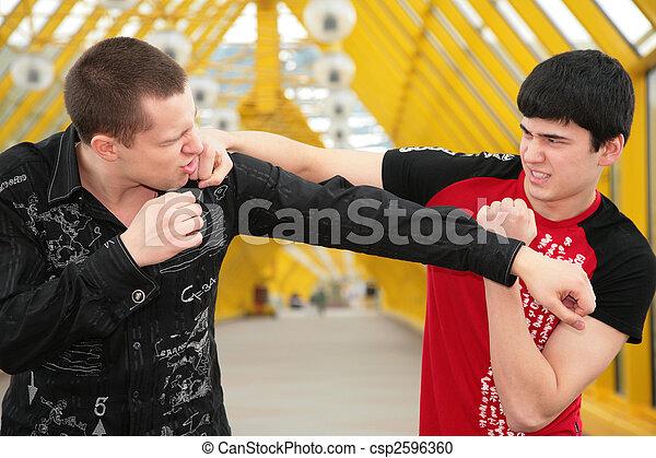 imitation of fight - csp2596360