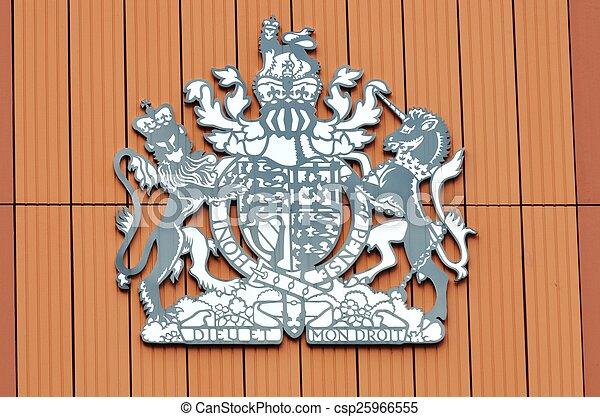 British Royal Symbol British Monarchy Symbol