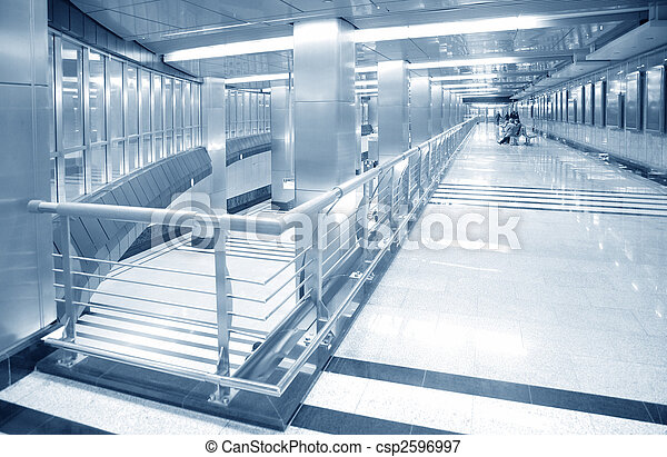hall of subway station - csp2596997