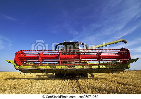 Combine harvester  - csp25971260