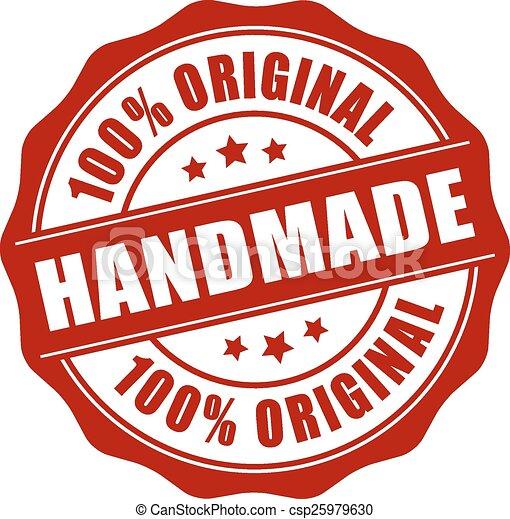 Handmade stamp - csp25979630