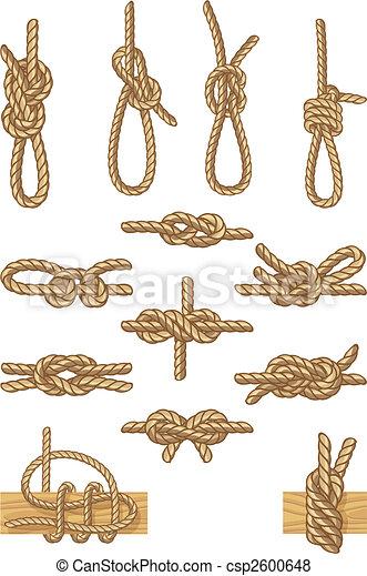 boating knots - csp2600648
