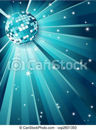 Mirror disco ball - csp2601350