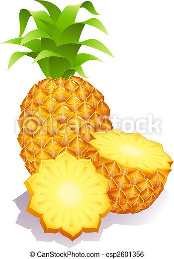 pineapples - csp2601356