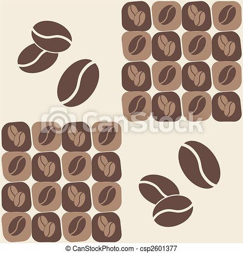 Coffee Bean Vector Art