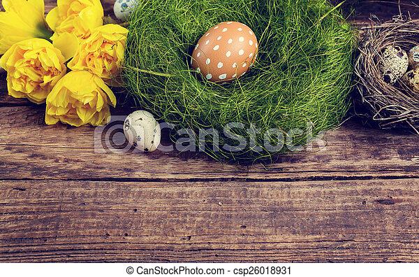 復活節 - csp26018931