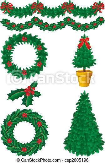 christmas decor - csp2605196