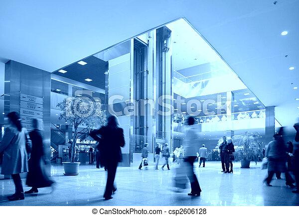 kommersiell, centrera - csp2606128
