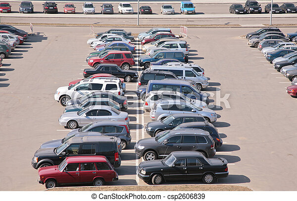 Automobiles on parking - csp2606839