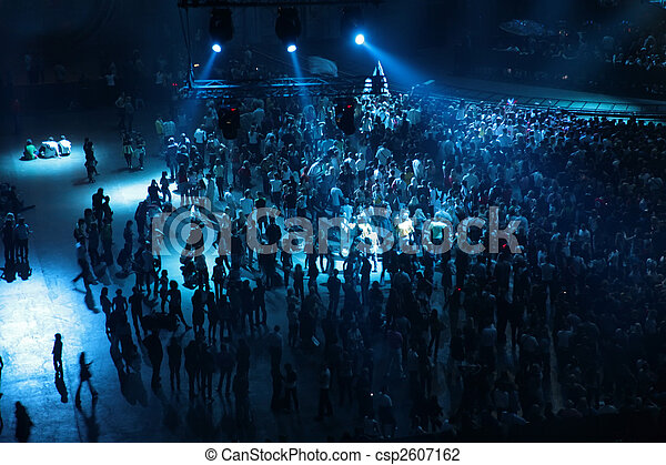 コンサート, 人々 - csp2607162