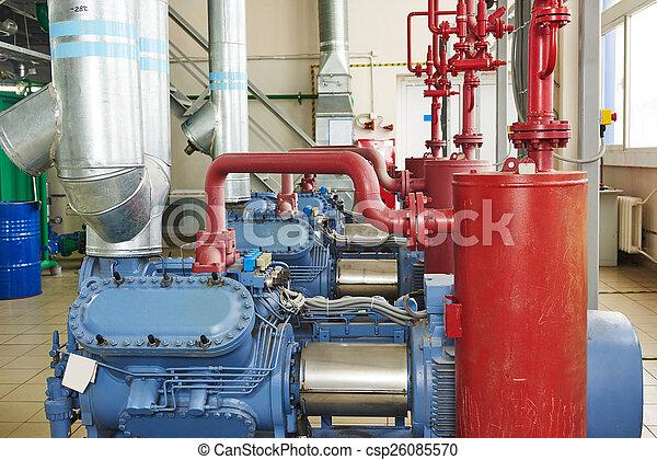 industrial compressor station - csp26085570