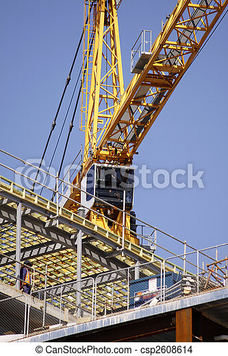Lift Crane for Container Handling, Cargo, Construction and Industrial Job Sites - csp2608614