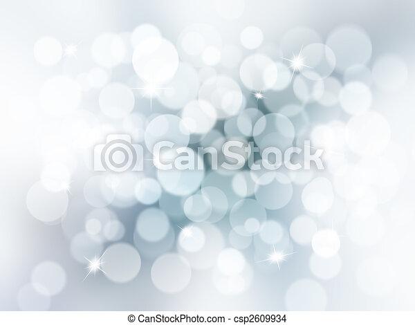 Christmas lights - csp2609934