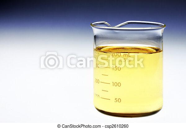Beaker of bio fuel - csp2610260