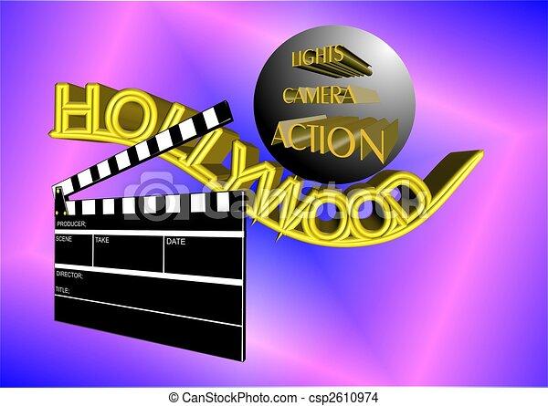 hollywood - csp2610974