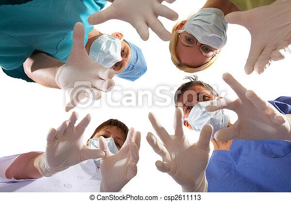 medical team - csp2611113
