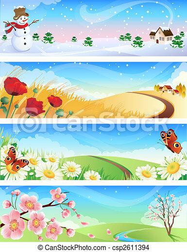 four seasons - csp2611394