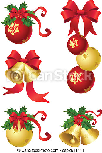 christmas decor - csp2611411
